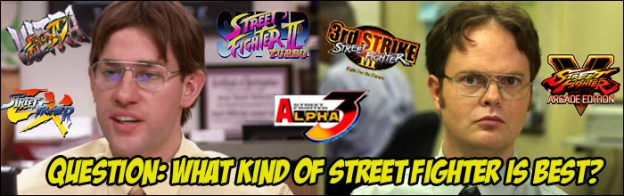 Poll results: Which Street Fighter series is your favorite?
