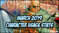 March 2019 Usage and Match Up stats image #1