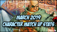 March 2019 Usage and Match Up stats image #2