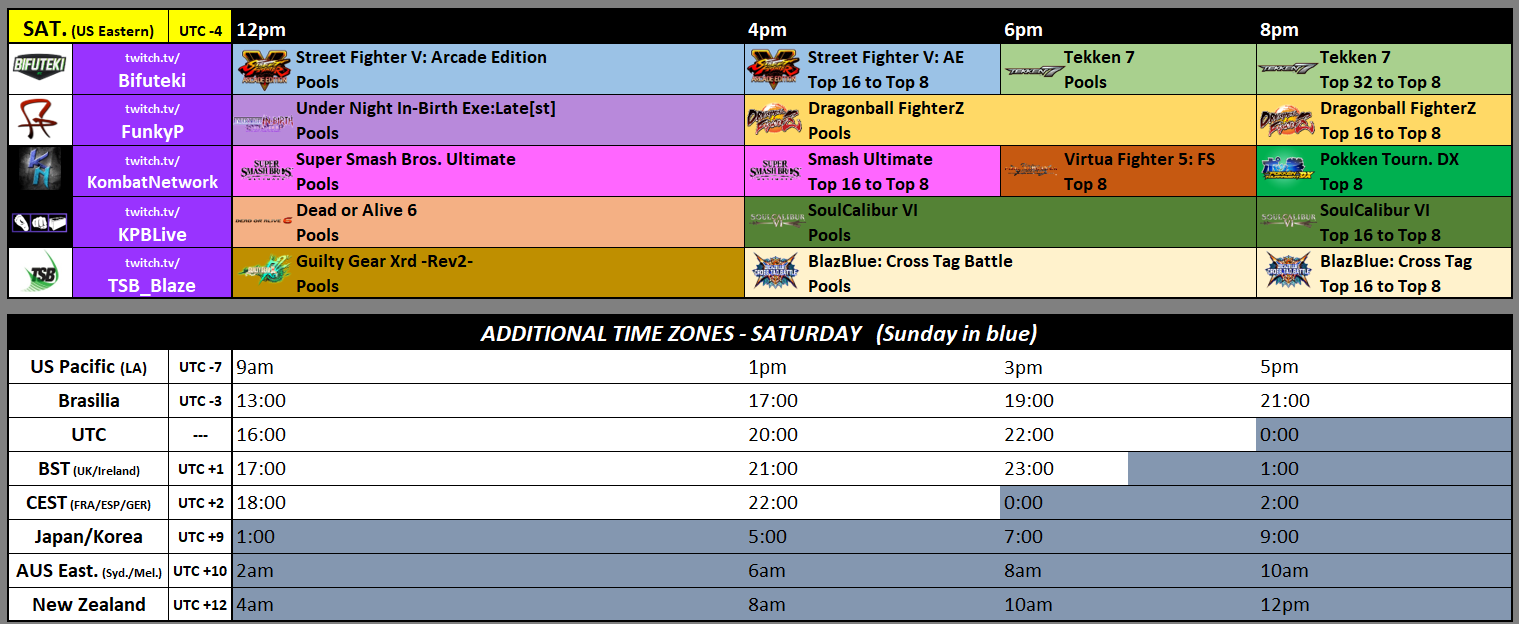 April Annihilation 2019 schedule 2 out of 3 image gallery