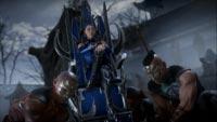 Kitana and D'Vorah in Mortal Kombat 11 image #1