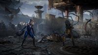 Kitana and D'Vorah in Mortal Kombat 11 image #5