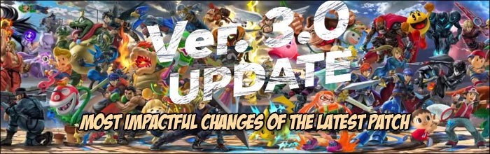 patch notes smash ultimate 3.0