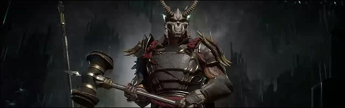 New Mortal Kombat 11 skins for Shao Kahn, Erron Black