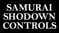 Samurai Shodown controls  out of 1 image gallery