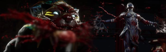 Second Fatalities for Kitana, Noob Saibot, Erron Black, D