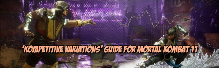 Here's how to use Mortal Kombat 11's tournament standard