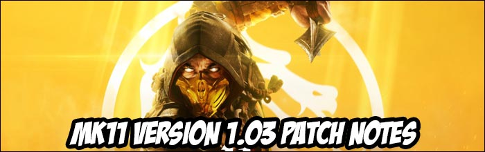 Update: Mortal Kombat 11 update Version 1 03 patch notes, now live