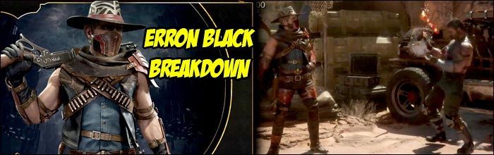 Erron Black is a trap and 50/50 character, not quite a