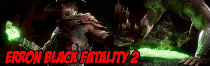 Erron Black's first Mortal Kombat 11 Fatality revealed