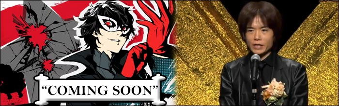 Masahiro Sakurai says the wait for Joker's arrival in Super Smash