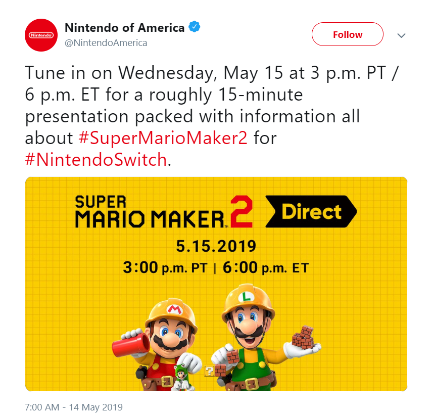 Mario Maker Direct 1 out of 1 image gallery