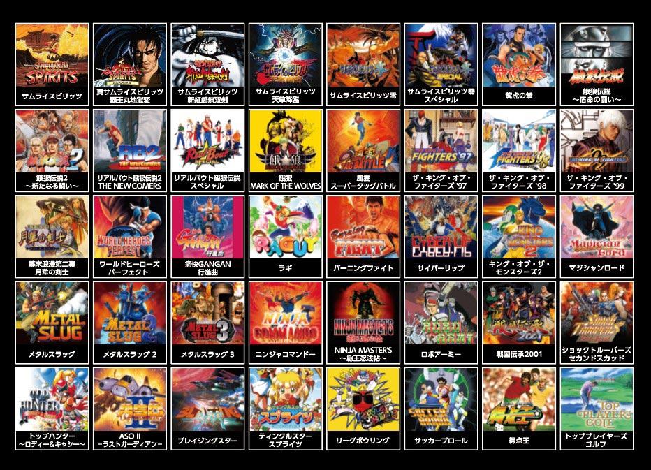 Samurai Shodown Neo Geo Mini 6 out of 6 image gallery