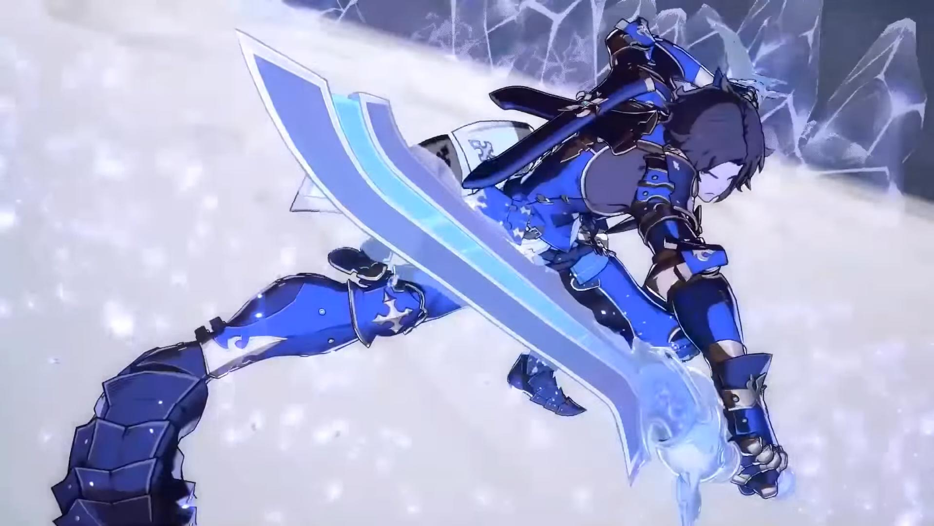 Lancelot and Ferry character trailer for Granblue Fantasy Versus 6 out of 6 image gallery