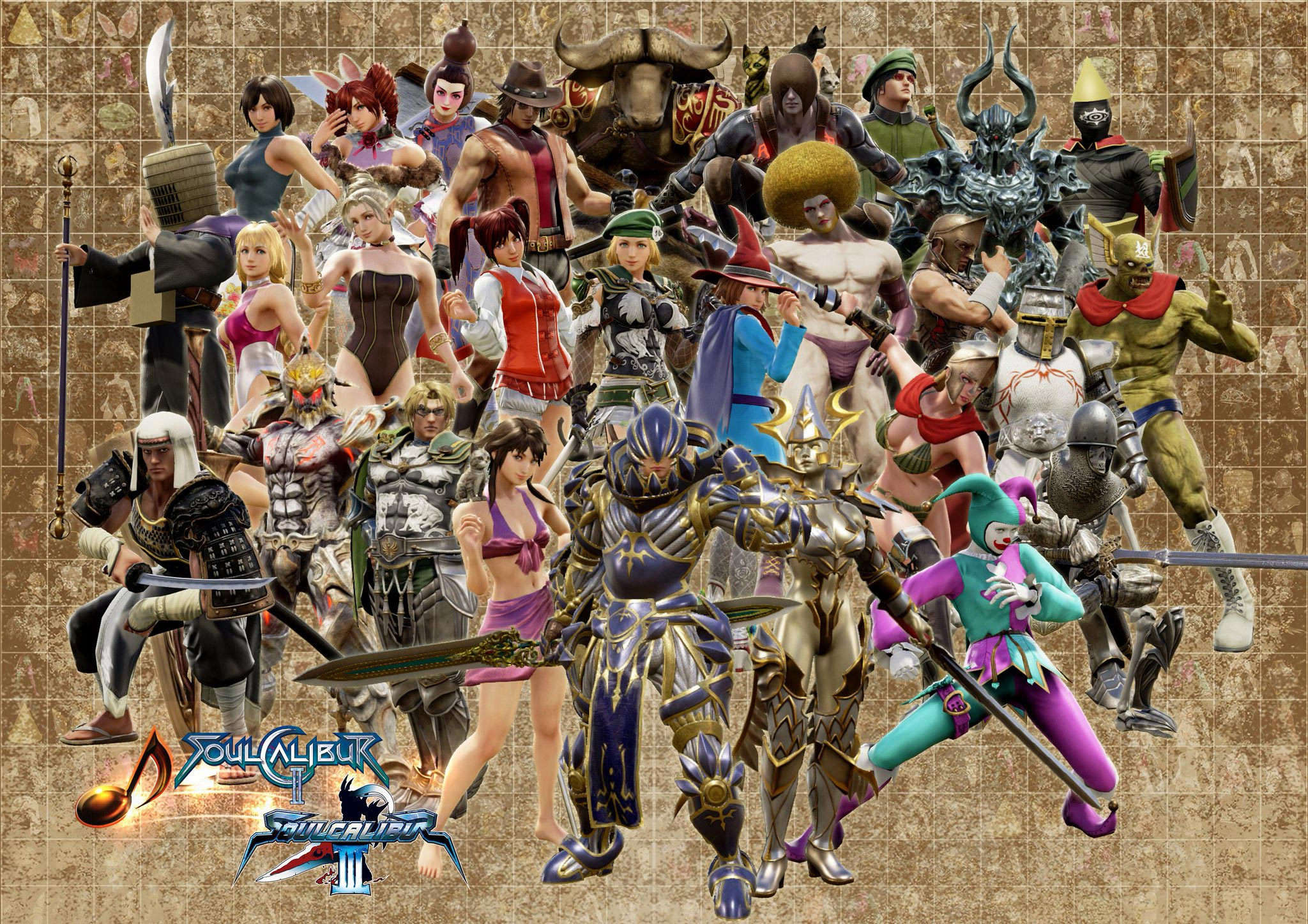 Soul Calibur new costume parts 3 out of 7 image gallery