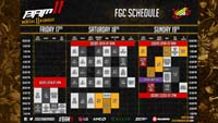 BAM 11 Event Schedule image #2