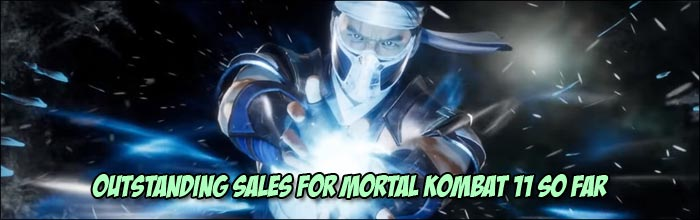 Mortal Kombat 11 is the best selling game of April and is