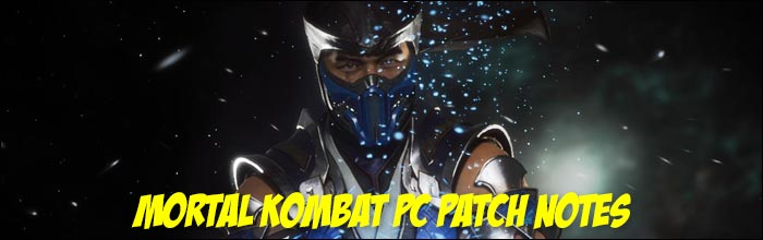 Mortal Kombat 11's new PC update available