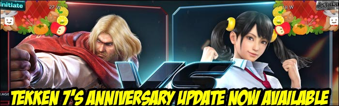 The 2-year anniversary update for Tekken 7 is now available bringing