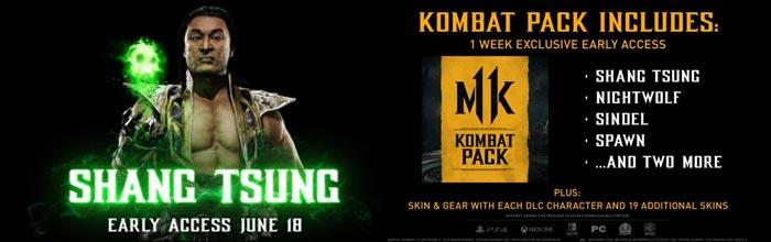 Shang Tsung Mortal Kombat 11 trailer released, Nightwolf, Sindel