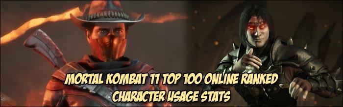 Erron Black And Liu Kang Players Make Up 22 Of The Top 100 Mortal