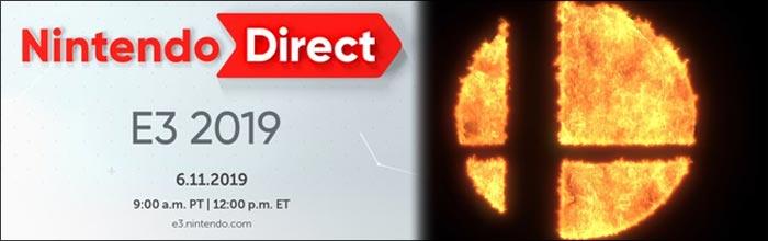 Tomorrow's Nintendo E3 2019 Direct presentation will run for around