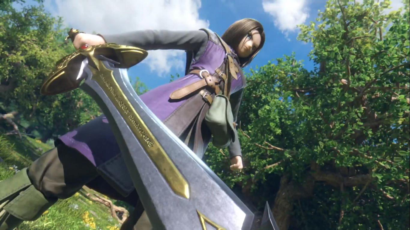 Dragon Quest's Hero in Super Smash Bros. Ultimate 1 out of 6 image gallery