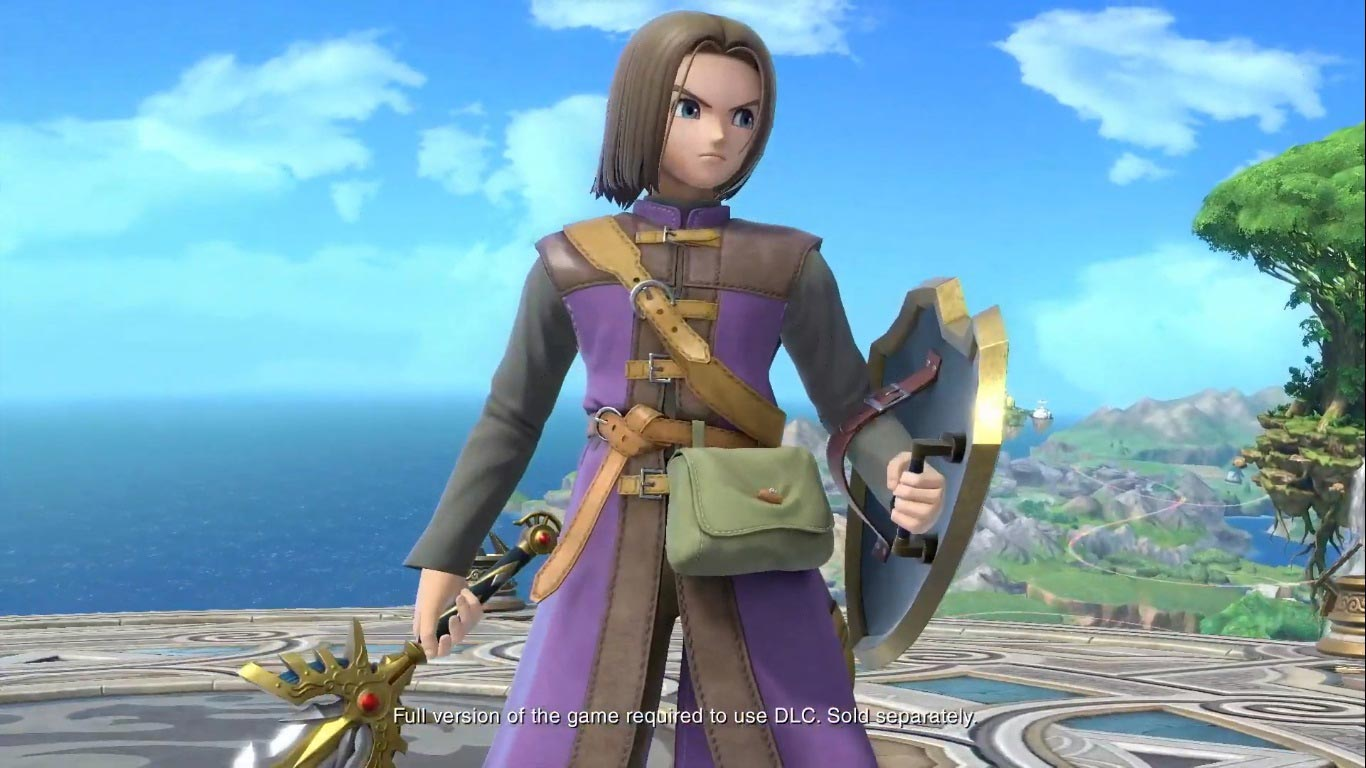 Dragon Quest's Hero in Super Smash Bros. Ultimate 2 out of 6 image gallery