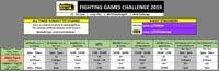 Fighting Games Challenge 2019 Event Schedule image #1
