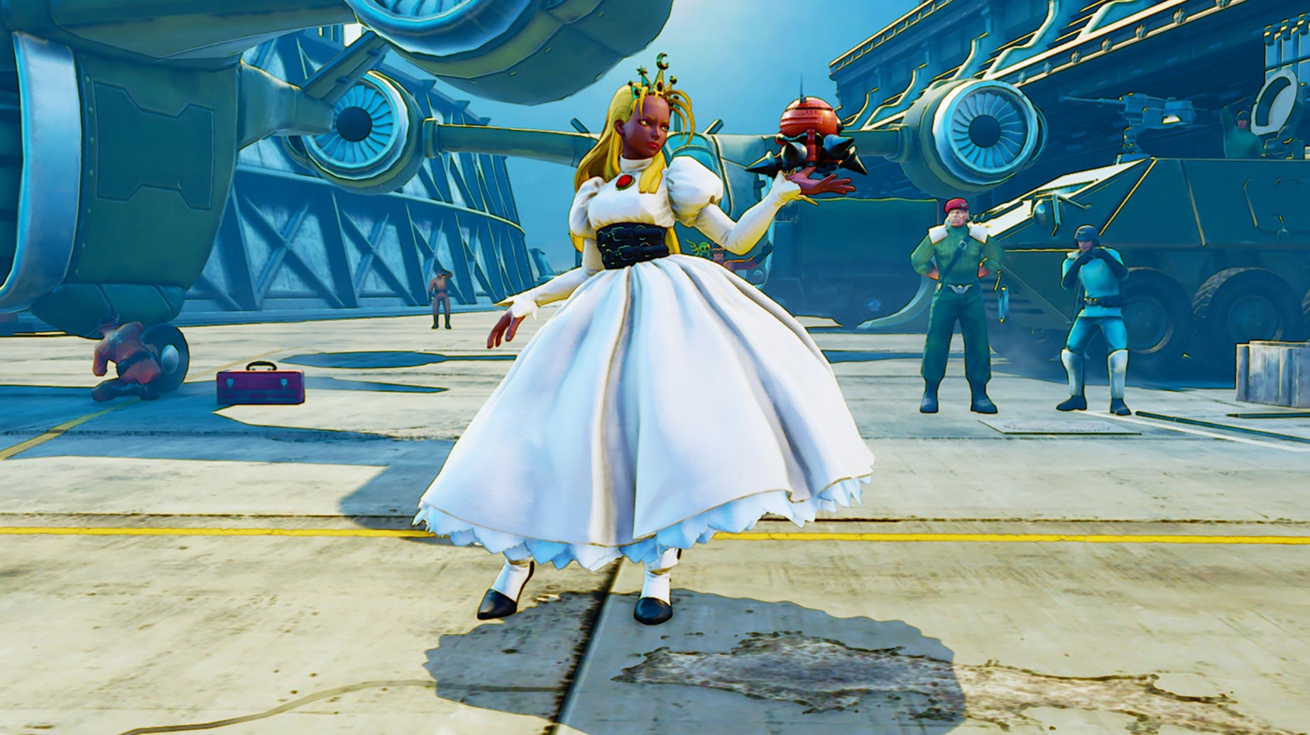 New Street Fighter 5 costumes and stage 5 out of 8 image gallery