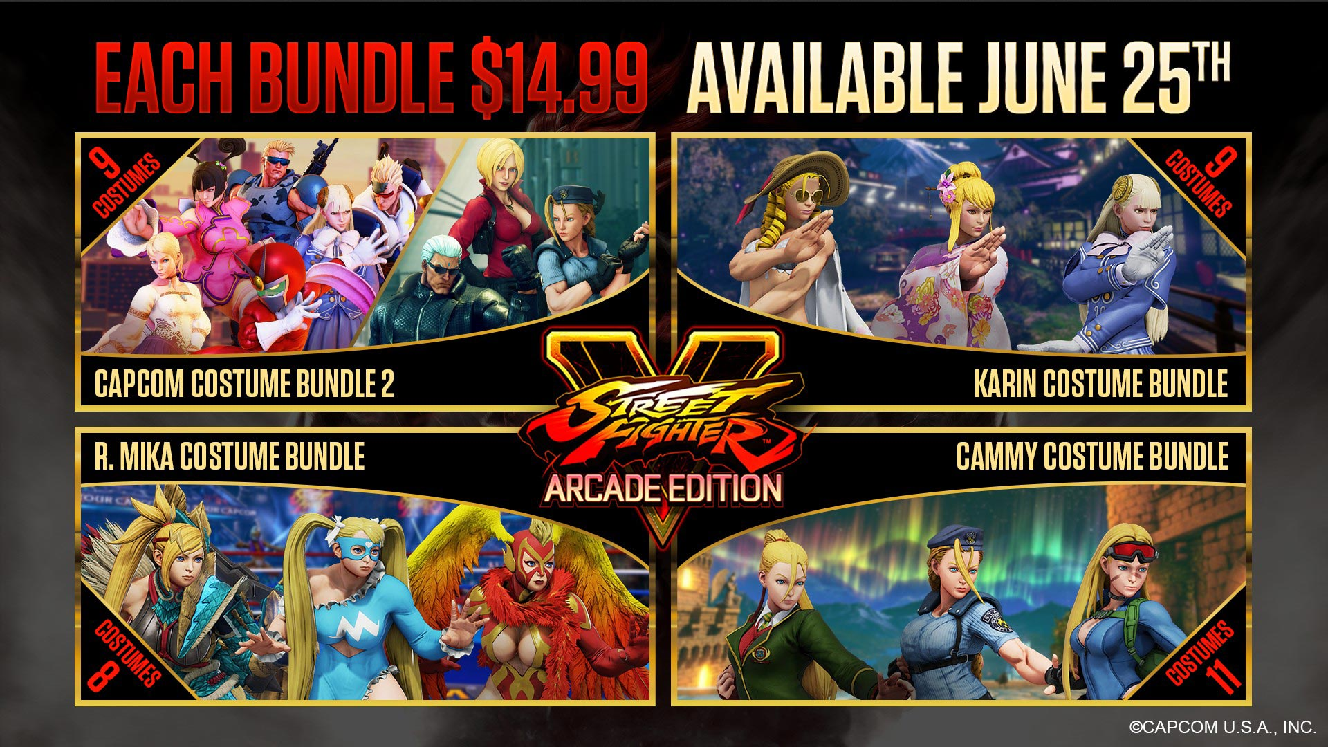 New Street Fighter 5 costumes and stage 7 out of 8 image gallery