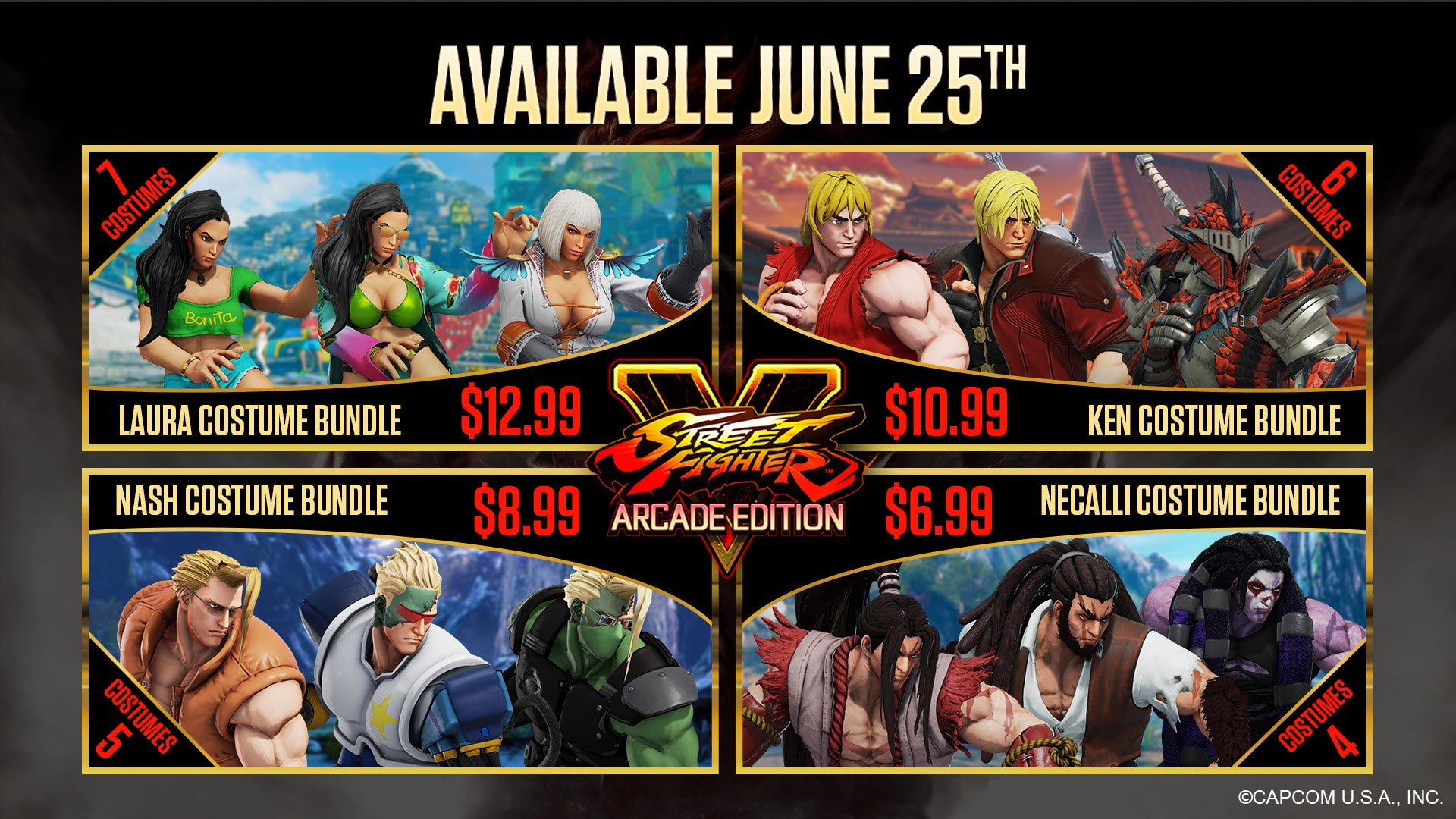 New Street Fighter 5 costumes and stage 8 out of 8 image gallery