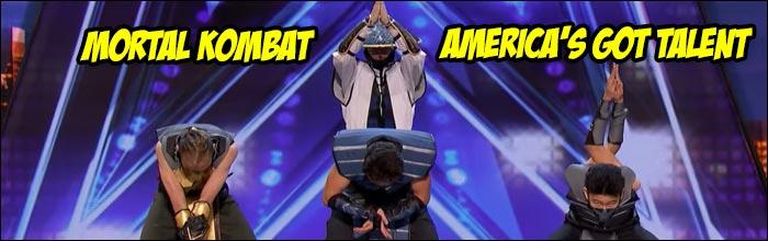 Mortal Kombat characters invade America's Got Talent for a dance