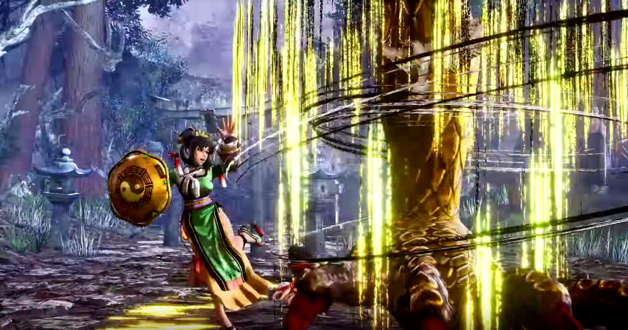 Wu Ruixiang's SamSho trailer 3 out of 6 image gallery