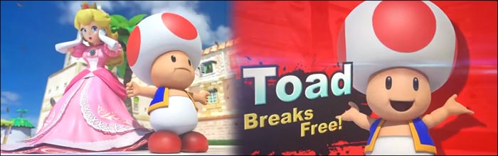 This Super Smash Bros  Ultimate newcomer Toad trailer 'leak' is
