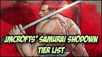 Jmcrofts's first Samurai Shodown tier list image #1