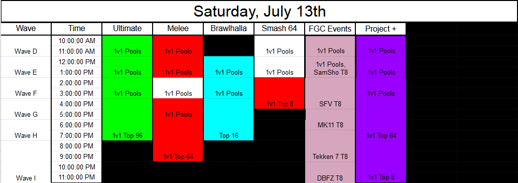 Low Tier City 7 Event Schedule 2 out of 3 image gallery