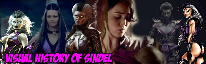 Too Bad You Will Die Visual History Of Sindel Shows Us How The