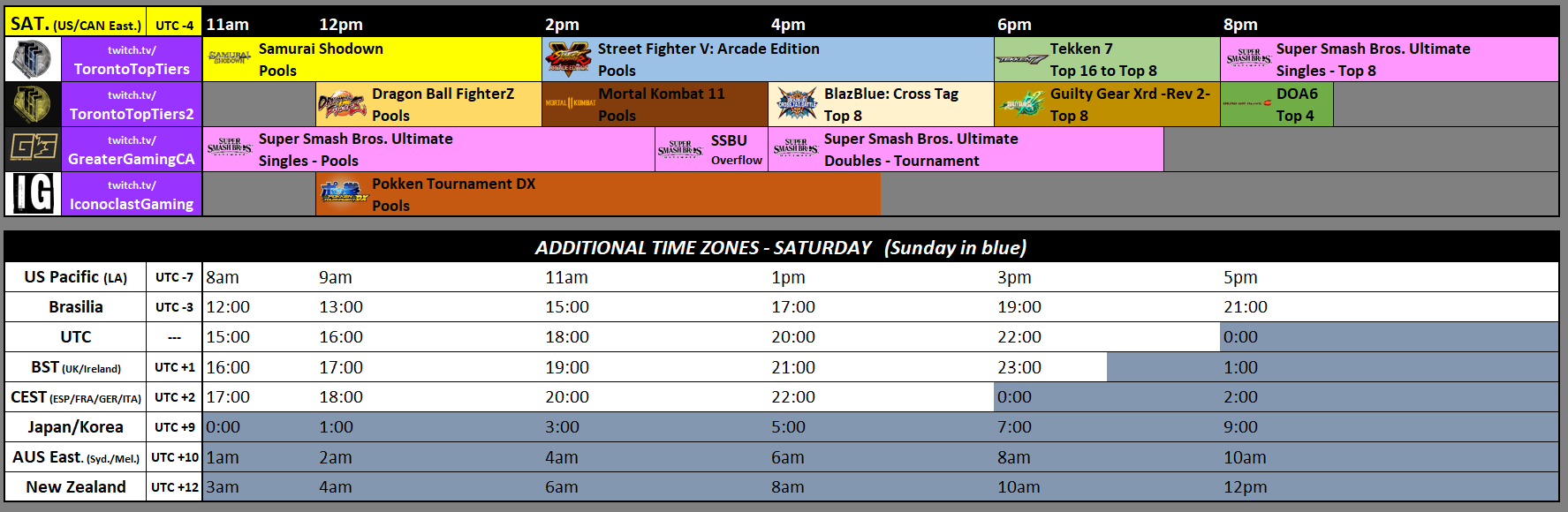 Toryuken 2019 Event Schedule 1 out of 2 image gallery