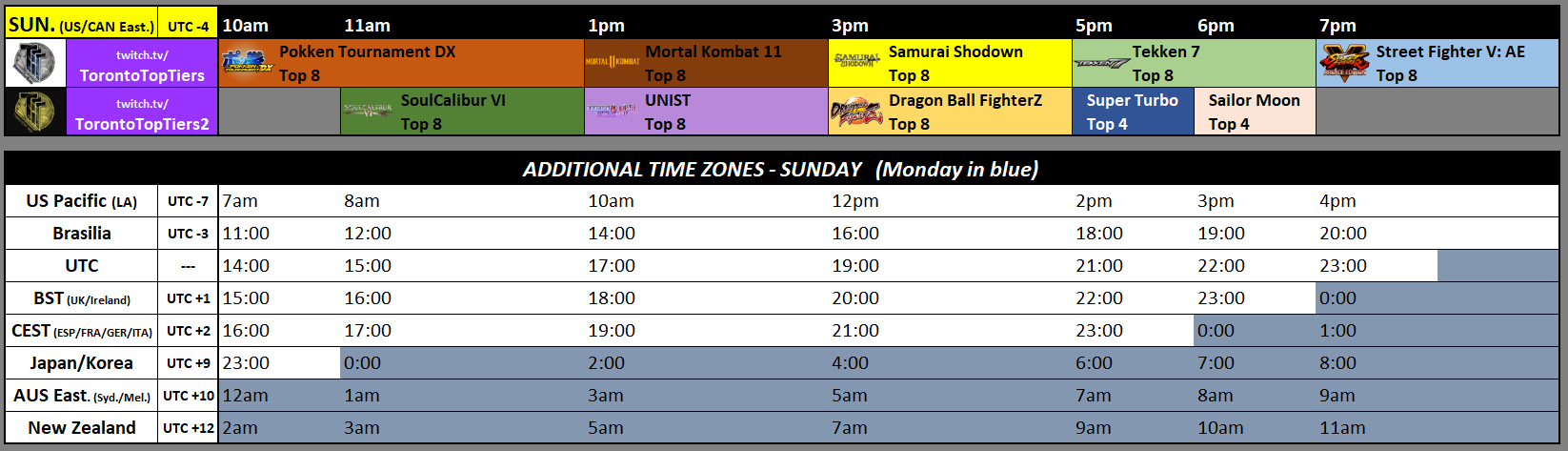 Toryuken 2019 Event Schedule 2 out of 2 image gallery