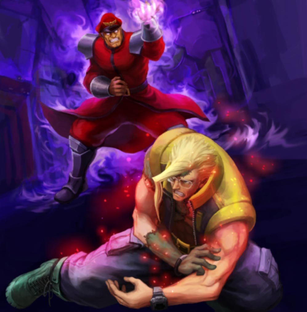 Teppen Street Fighter art 1 out of 18 image gallery