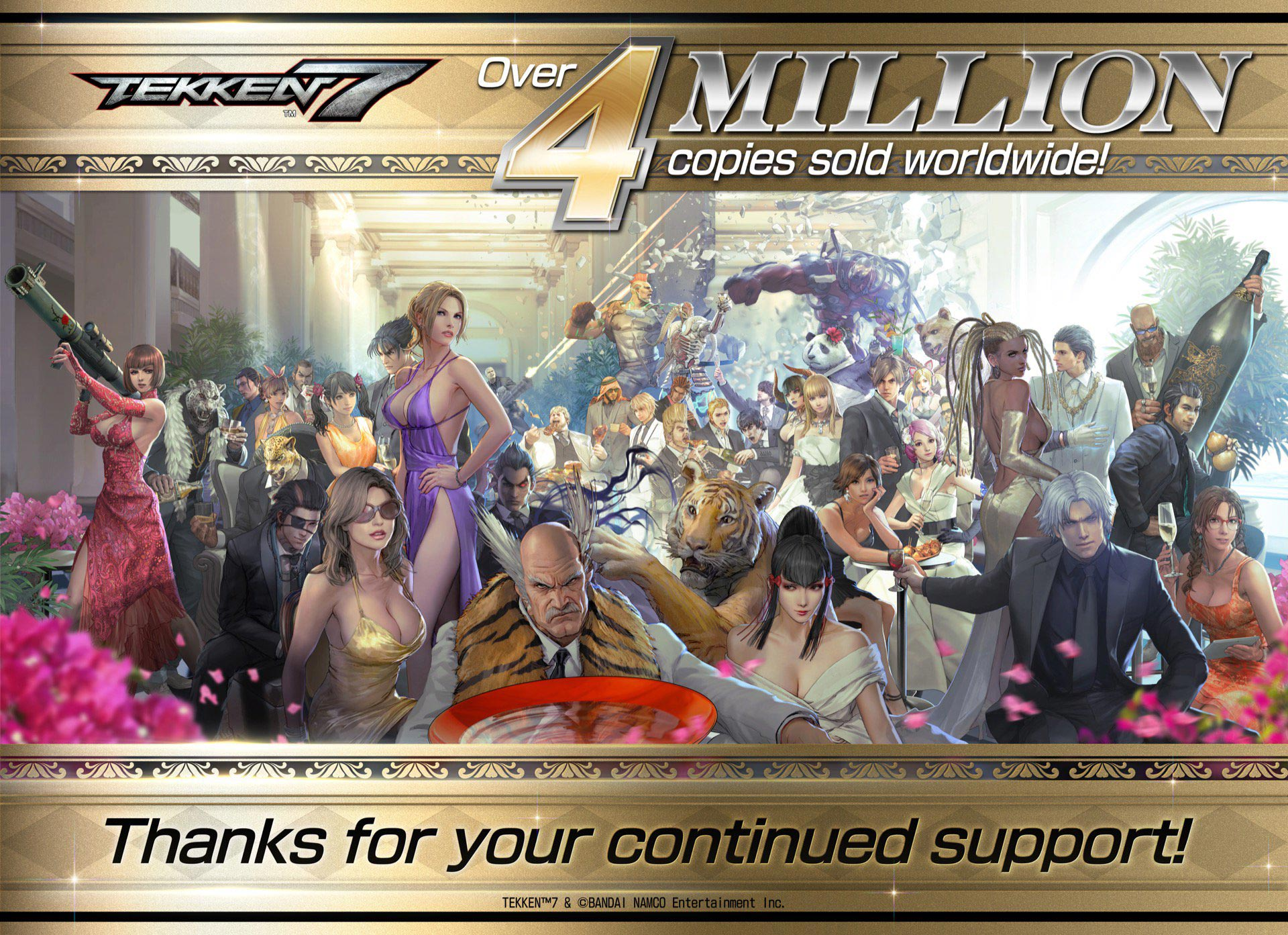 Tekken 7 hits over 4 million copies sold 2 out of 2 image gallery