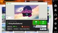 Kirby inhales Masahiro Sakurai in Super Smash Bros. Ultimate created stage image #4