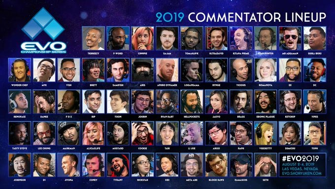 EVO Schedule and Commentators 2 out of 2 image gallery
