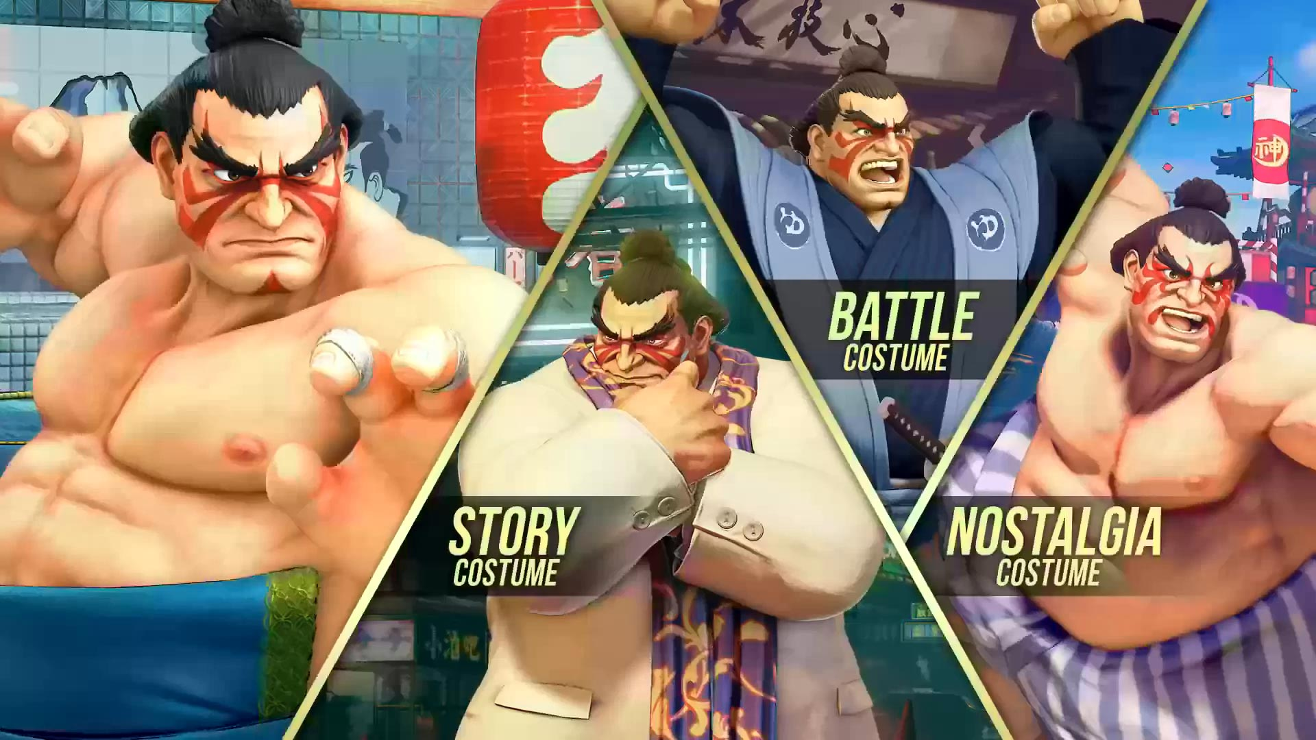 Street Fighter 5 leaked gallery of E. Honda, Lucia and Poison 2 out of 35 image gallery