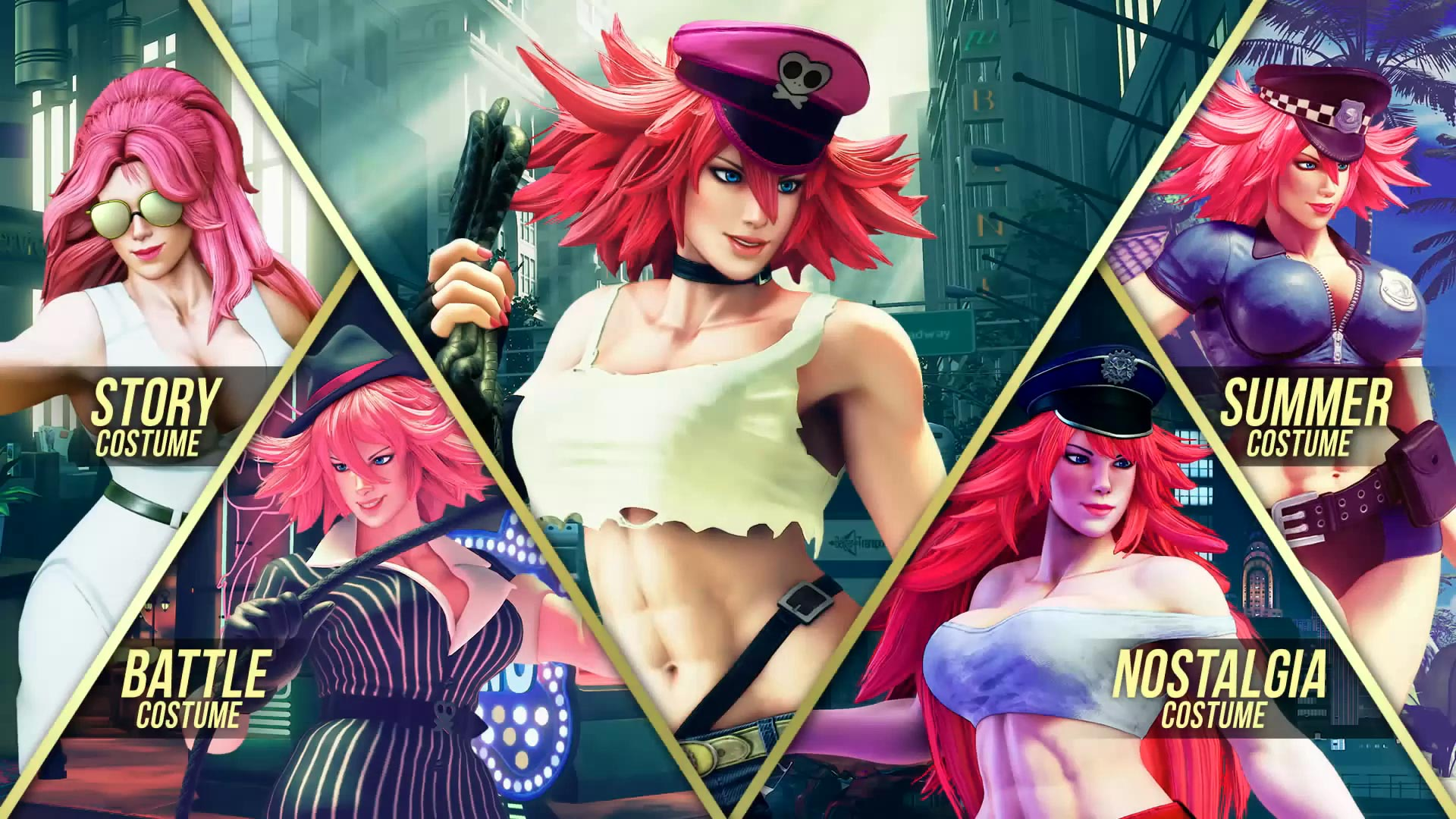 Street Fighter 5 leaked gallery of E. Honda, Lucia and Poison 4 out of 35 image gallery