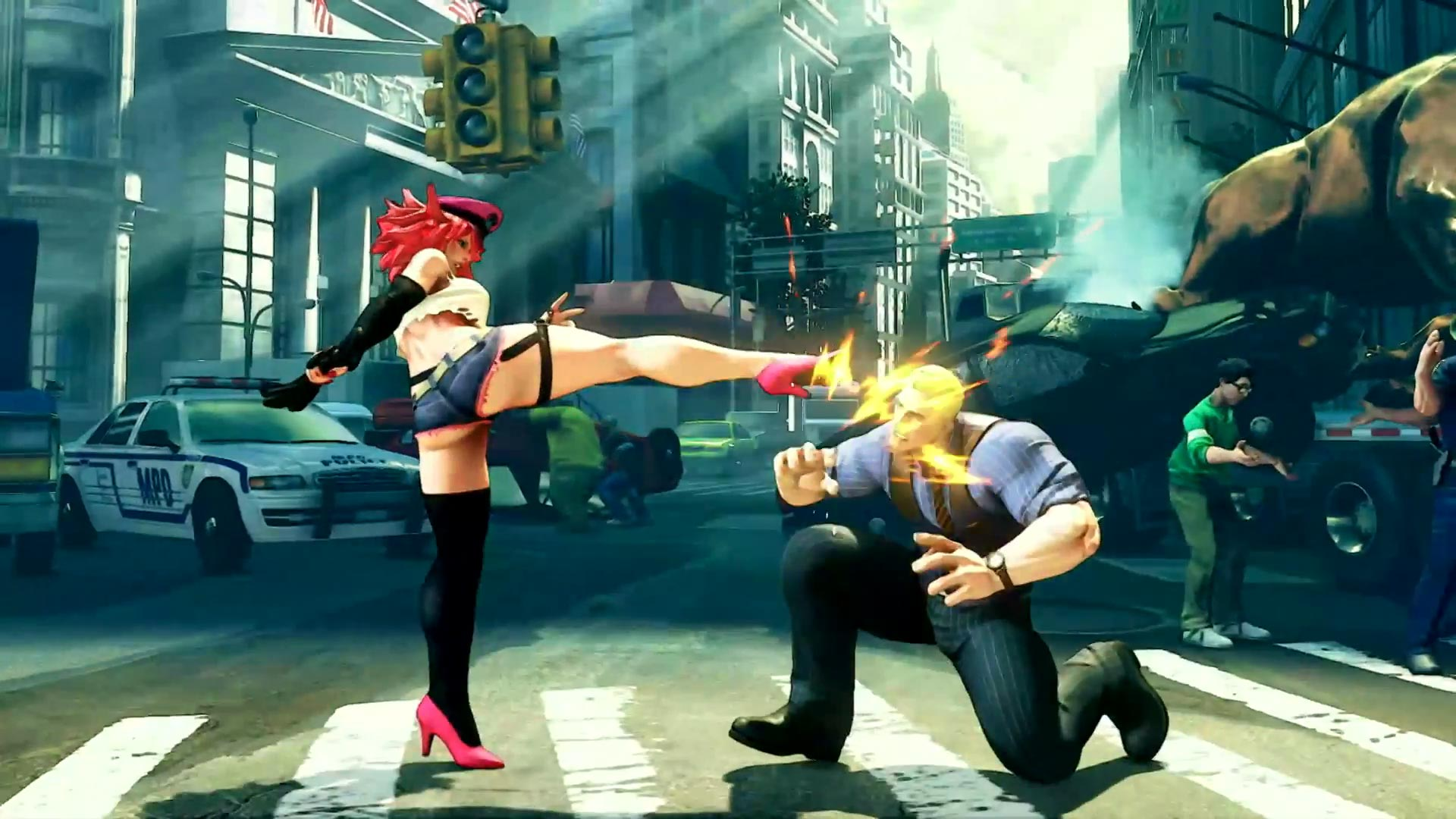 Street Fighter 5 leaked gallery of E. Honda, Lucia and Poison 11 out of 35 image gallery