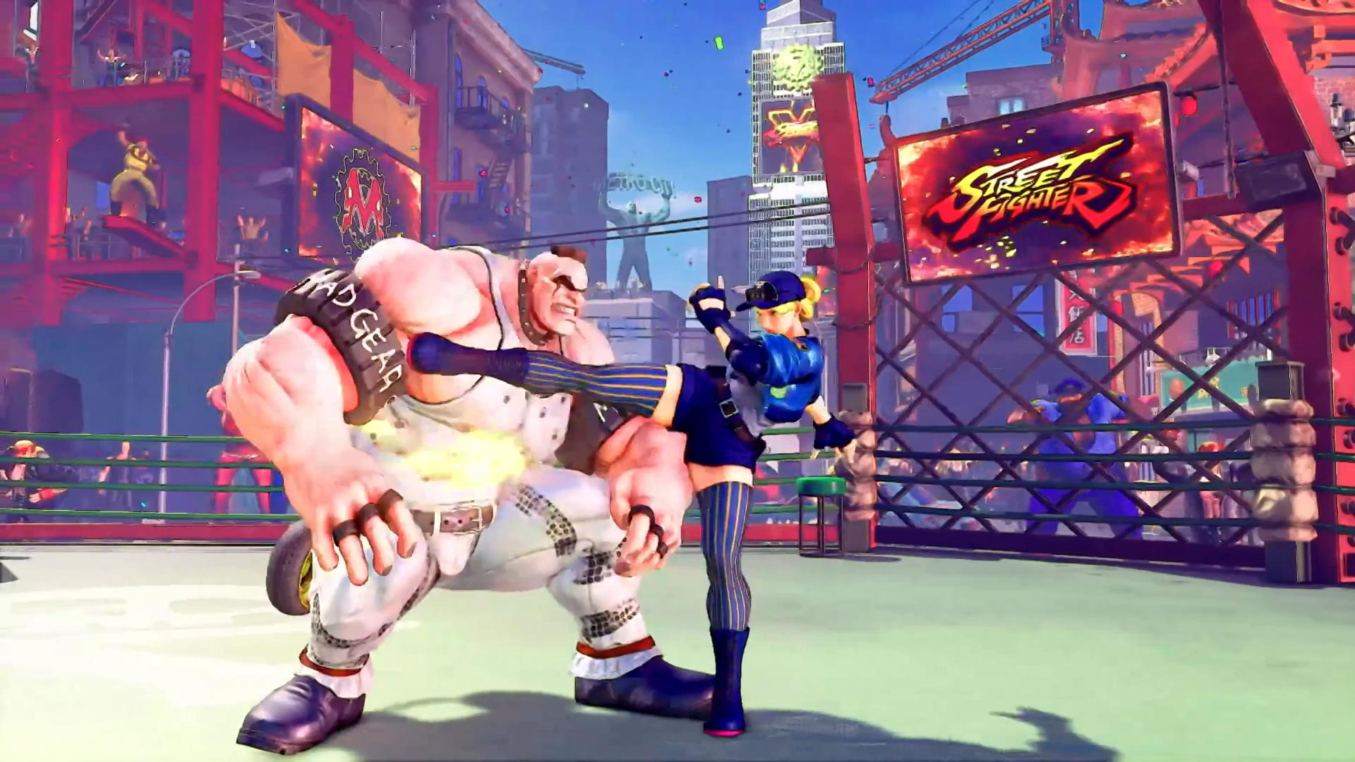 Street Fighter 5 leaked gallery of E. Honda, Lucia and Poison 13 out of 35 image gallery