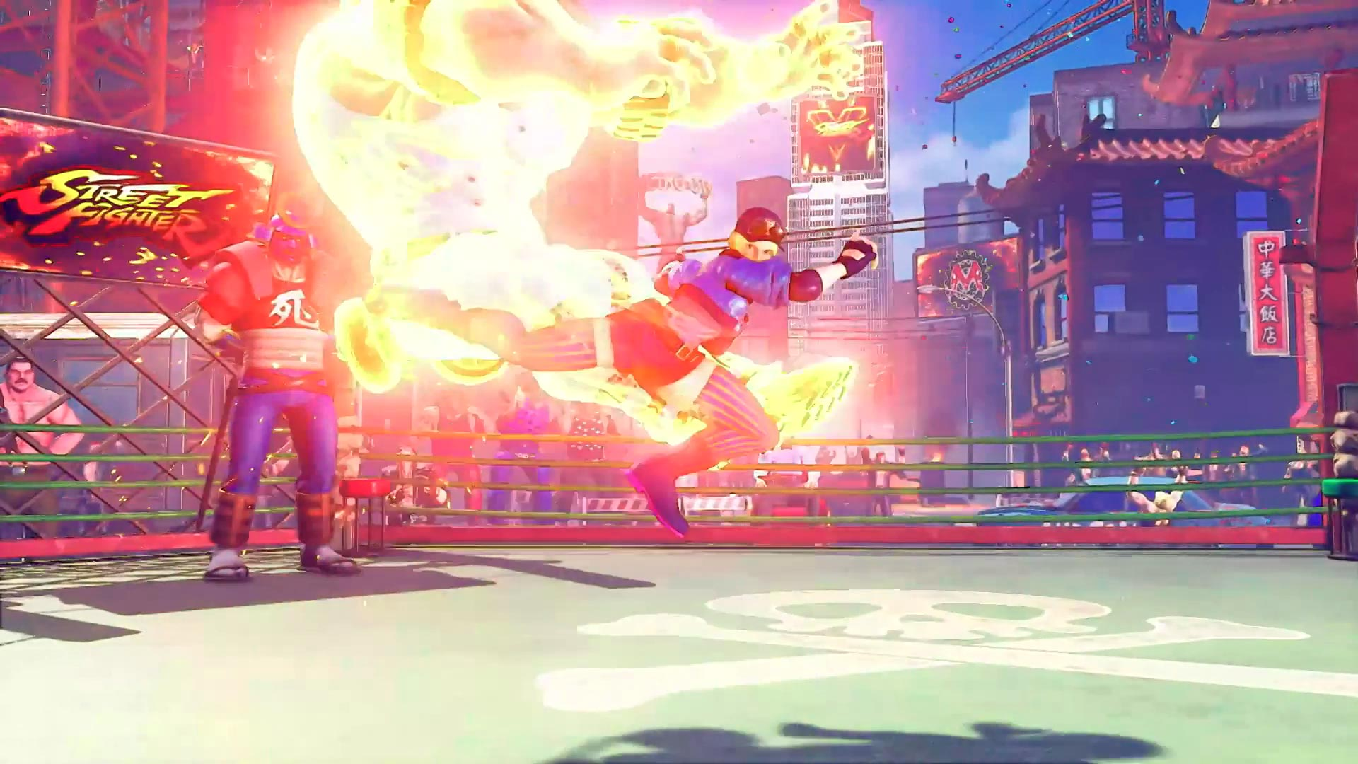 Street Fighter 5 leaked gallery of E. Honda, Lucia and Poison 16 out of 35 image gallery