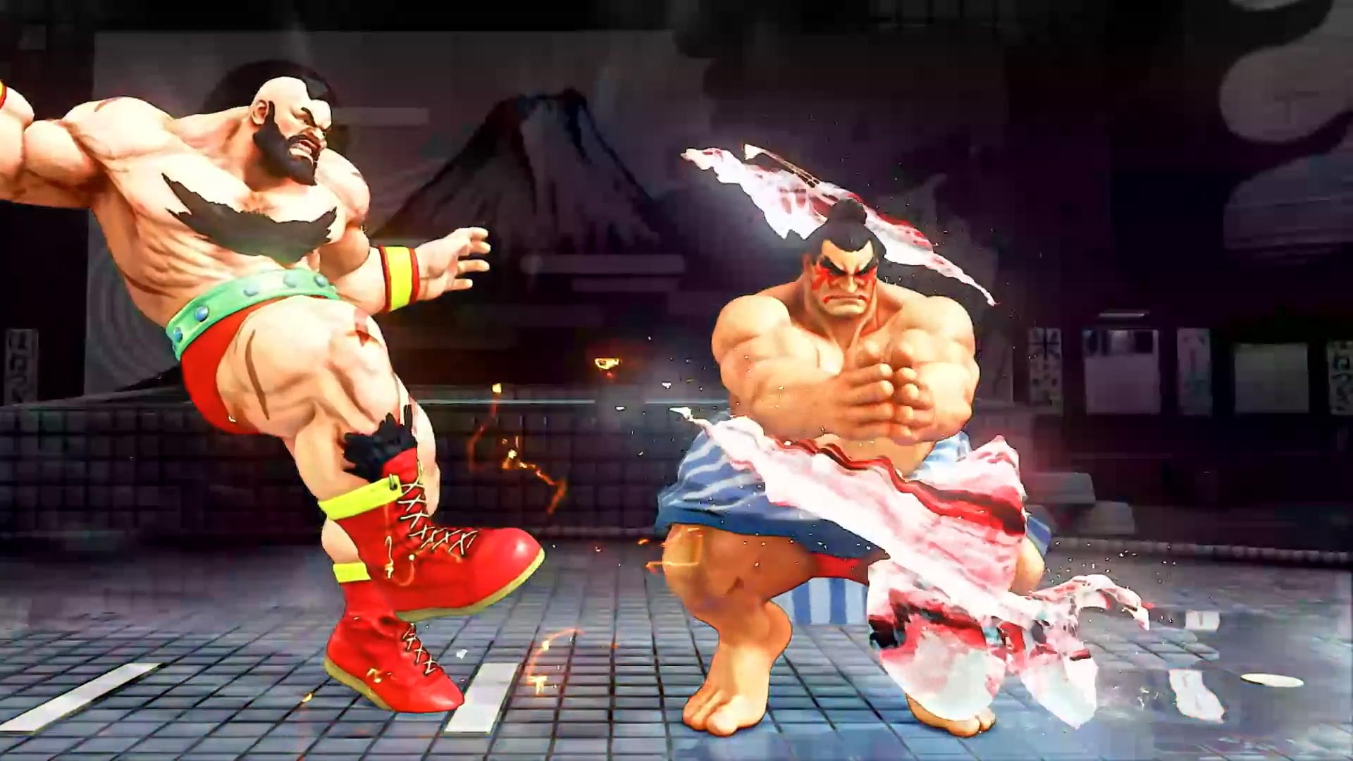 Street Fighter 5 leaked gallery of E. Honda, Lucia and Poison 21 out of 35 image gallery